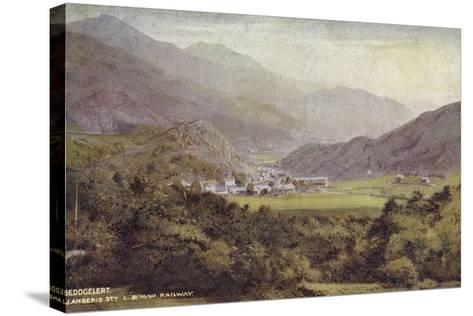 Beddgelert, Llanberis Stn--Stretched Canvas Print