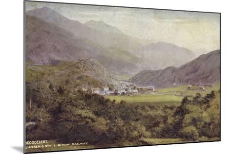 Beddgelert, Llanberis Stn--Mounted Photographic Print