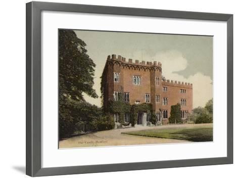 The Castle, Hertford--Framed Art Print