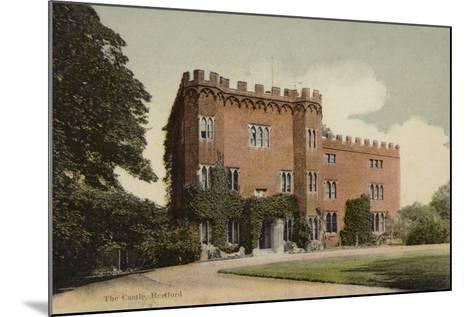 The Castle, Hertford--Mounted Photographic Print