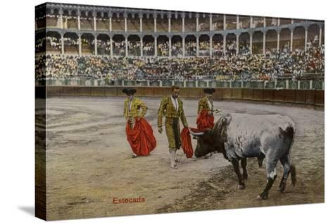 Bullfighting Scene, Spain--Stretched Canvas Print