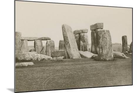 Stonehenge--Mounted Photographic Print