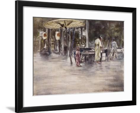 Wet Weather-Mortimer Ludington Menpes-Framed Art Print