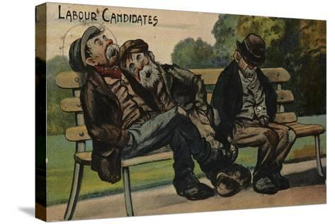Labour Candidates--Stretched Canvas Print