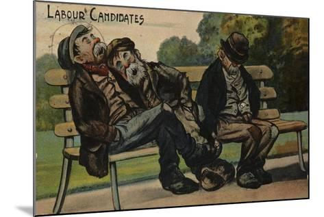 Labour Candidates--Mounted Giclee Print