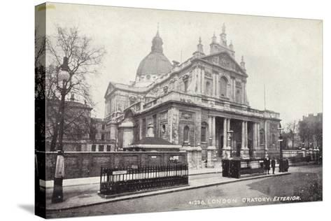 London Oratory: Exterior--Stretched Canvas Print