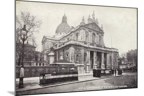 London Oratory: Exterior--Mounted Photographic Print
