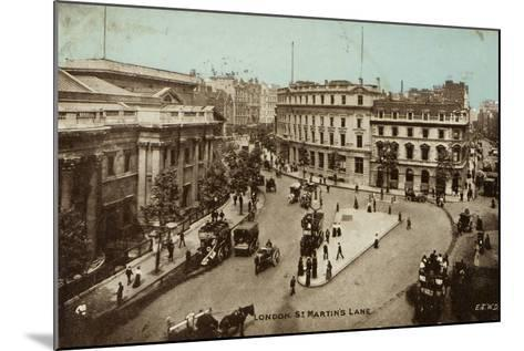 London, St. Martin's Lane--Mounted Photographic Print