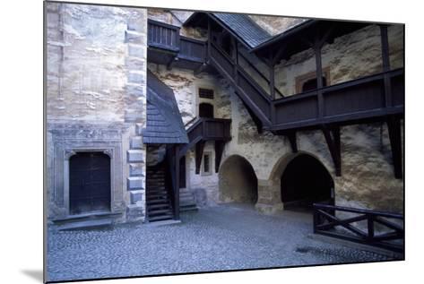 Courtyard of Orava Castle, Oravsky Podzamok, Zilina, Slovakia--Mounted Giclee Print
