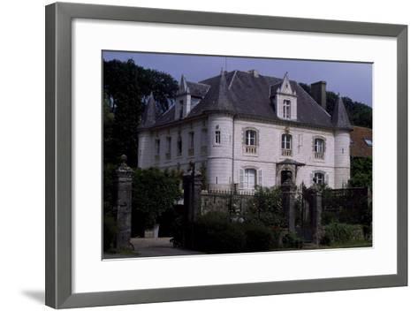 View of Chateau De Fief D'Herambault, 1845, Montcavrel, Nord-Pas De Calais, France--Framed Art Print