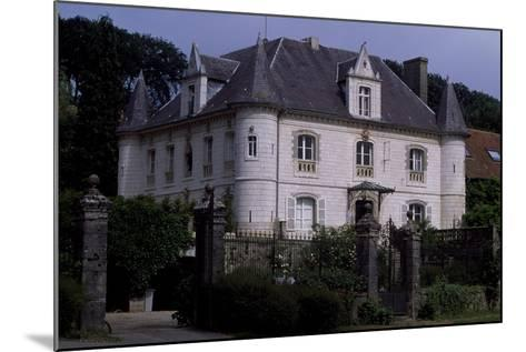 View of Chateau De Fief D'Herambault, 1845, Montcavrel, Nord-Pas De Calais, France--Mounted Giclee Print