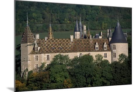 Chateau De La Rochepot, Burgundy, France, 13th-19th Century--Mounted Giclee Print