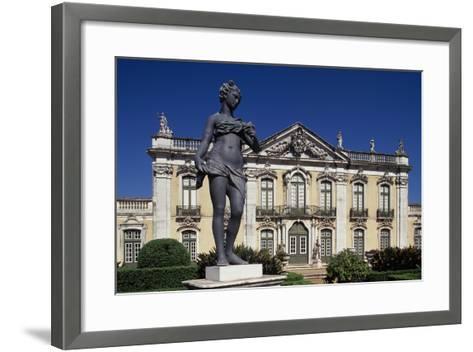 18th Century Queluz Palace, Queluz, Portugal--Framed Art Print