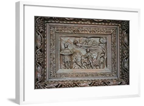 Panel from 5C Door: Habakkuk Is Abducted--Framed Art Print