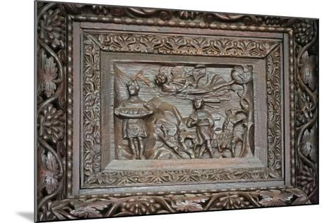 Panel from 5C Door: Habakkuk Is Abducted--Mounted Giclee Print