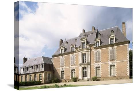 Chateau De Quevauvillers Facade, Picardy. France, 17th-18th Century--Stretched Canvas Print
