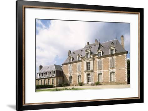 Chateau De Quevauvillers Facade, Picardy. France, 17th-18th Century--Framed Art Print