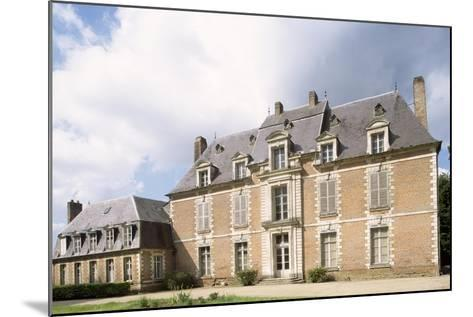 Chateau De Quevauvillers Facade, Picardy. France, 17th-18th Century--Mounted Giclee Print