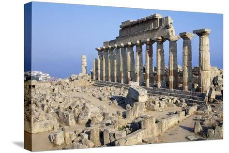 Temple C, Selinunte, Sicily, Italy--Stretched Canvas Print