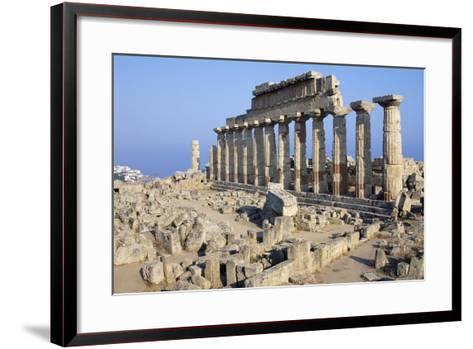 Temple C, Selinunte, Sicily, Italy--Framed Art Print