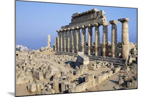 Temple C, Selinunte, Sicily, Italy--Mounted Giclee Print