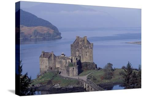 Eilean Donan Castle, Loch Duich, Highlands, Scotland, 13th-20th Century--Stretched Canvas Print