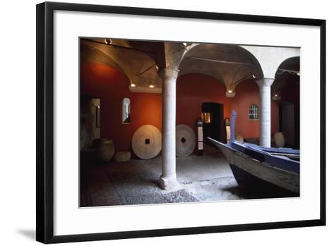 France, Chateau De Cagnes-Sur-Mer, Lower Gallery--Framed Art Print