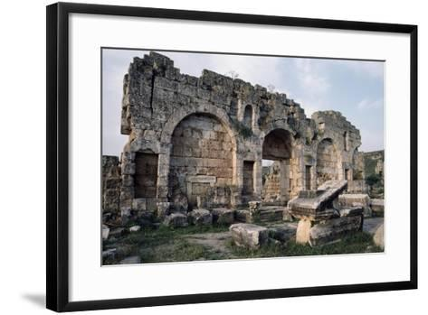Hellenistic Door, Perge, Turkey, Hellenistic Civilization, 1st-2nd Century--Framed Art Print