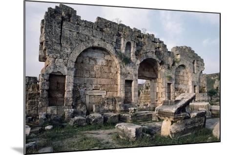 Hellenistic Door, Perge, Turkey, Hellenistic Civilization, 1st-2nd Century--Mounted Giclee Print