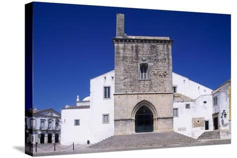 Faro Cathedral with Gothic Foundations and Renaissance Interior--Stretched Canvas Print