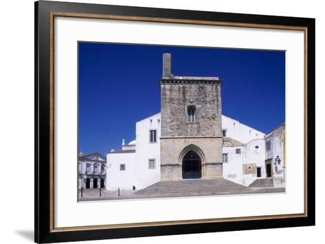 Faro Cathedral with Gothic Foundations and Renaissance Interior--Framed Art Print