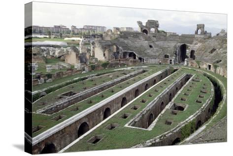 Roman Amphitheatre, Santa Maria Capua Vetere, Campania, Italy, 1st-2nd Century--Stretched Canvas Print