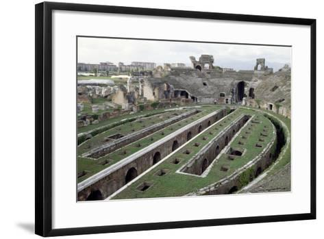 Roman Amphitheatre, Santa Maria Capua Vetere, Campania, Italy, 1st-2nd Century--Framed Art Print