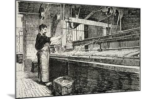 Jewelry Laboratory from Revue De L'Expo Universelle, 1889--Mounted Giclee Print