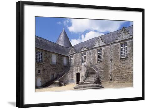 View of Rohan Castle, Pontivy, Brittany, France, 15th-16th Century--Framed Art Print