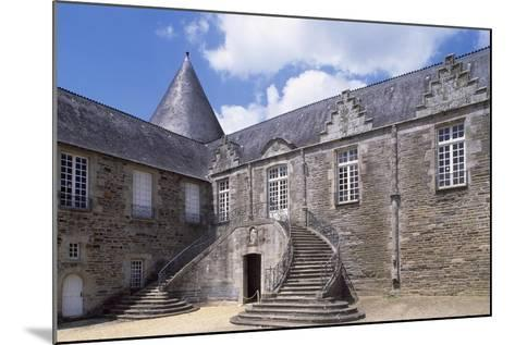 View of Rohan Castle, Pontivy, Brittany, France, 15th-16th Century--Mounted Giclee Print