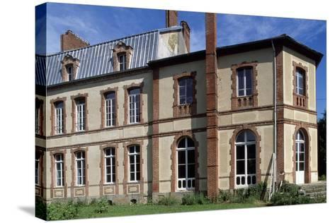 View of Chateau De Lumigny, Lumigny-Nesles-Ormeaux, Ile-De-France, France, 16th-19th Century--Stretched Canvas Print