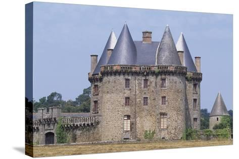 View of Chateau De Landal, Broualan, Brittany, France 15th-19th Century--Stretched Canvas Print