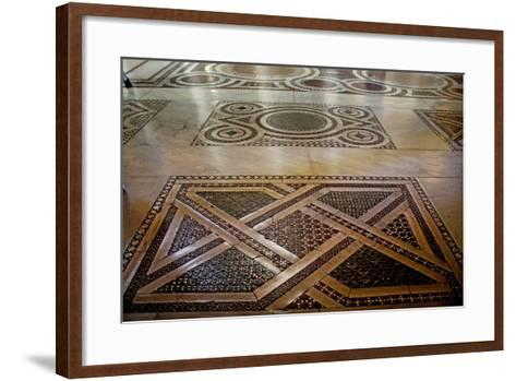 Cosmati Pavement--Framed Art Print