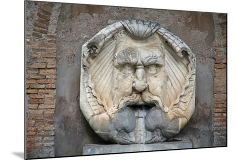 Head as Fountain--Mounted Giclee Print