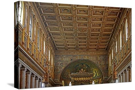 Nave and Ceiling--Stretched Canvas Print