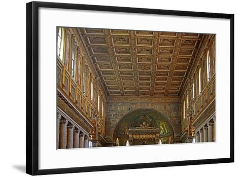 Nave and Ceiling--Framed Art Print