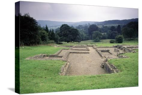 Ruins of the Great Witcombe Roman Villa, Gloucestershire, England, United Kingdom--Stretched Canvas Print
