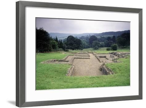 Ruins of the Great Witcombe Roman Villa, Gloucestershire, England, United Kingdom--Framed Art Print