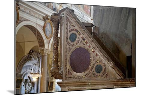 Cosmatesque Pulpit--Mounted Giclee Print