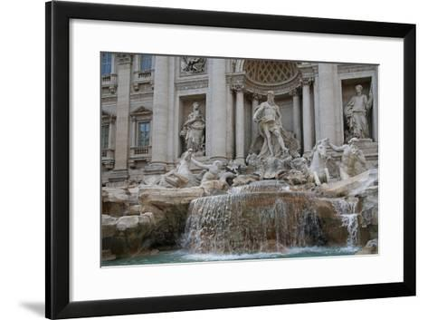 The Trevi Fountain--Framed Art Print