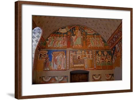 Scenes on the West Wall of the Chapel: from the History of Constantine and St Sylvester--Framed Art Print