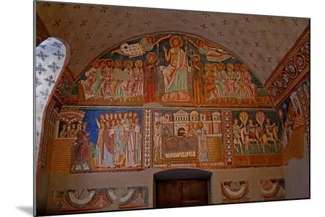 Scenes on the West Wall of the Chapel: from the History of Constantine and St Sylvester--Mounted Giclee Print
