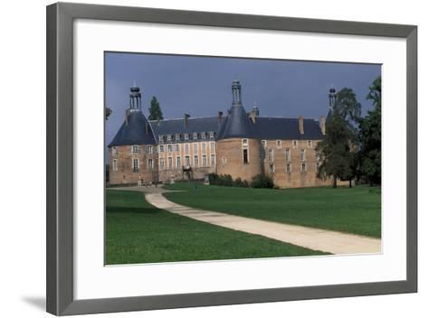 View of Castle of Saint-Fargeau, Burgundy, France, 15th-17th Century--Framed Art Print