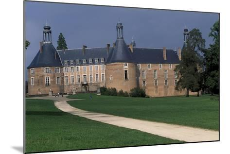 View of Castle of Saint-Fargeau, Burgundy, France, 15th-17th Century--Mounted Giclee Print